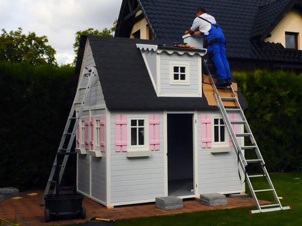 Dżepetto - drewniane domki dla dzieci